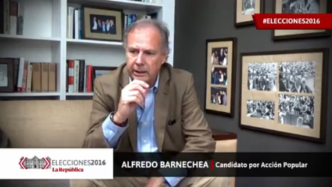 "Alfredo Barnechea: ""Los países no se han transformado en base a la educación privada"" 