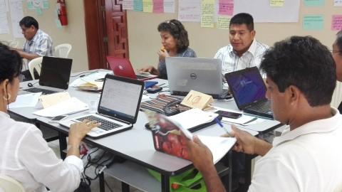 Encuentro en Lima con miembros del Grupo Gestión Estratégica de la EIB