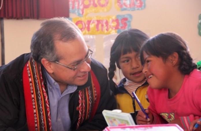 Ministro de Educación Jaime Saavedra. Foto: Diario Gestion.