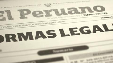 Decreto Supremo modifica el reglamento de la Ley General de Educación