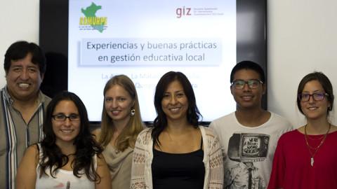 Proyecto FORGE apoya a REMURPE en sistematización de buenas prácticas de gestión educativa local