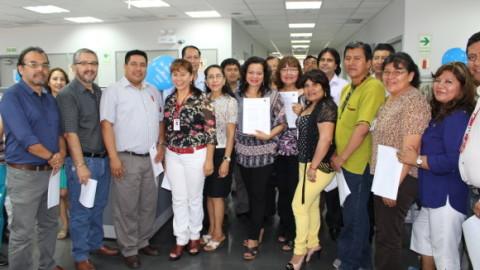 Miembros de Edugestores entregan al MINEDU sus aportes para la implementación de la Política Nacional de EIT y EIB