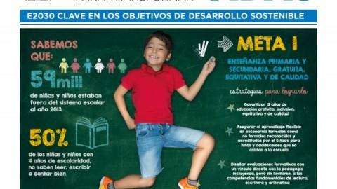 Campaña: E2030 Educación para transformar vidas – UNESCO