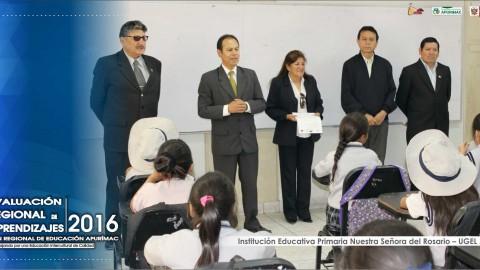 DRE Apurímac realizó la primera Evaluación Regional de Aprendizajes