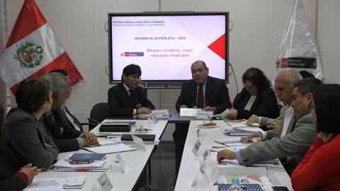 Sistematización del proceso de implementación de la Política de Desarrollo de las Personas en el MINEDU