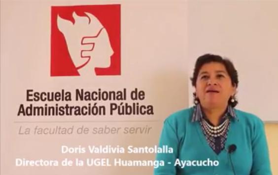 Entrevista a la Directora de la UGEL de Huamanga   Ayacucho   YouTube