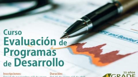 GRADE: Curso Evaluación de Programas de Desarrollo