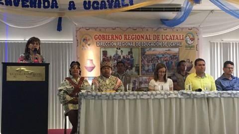 UCAYALI: Minedu presentó nuevo Plan Nacional de EIB a favor de estudiantes indígenas