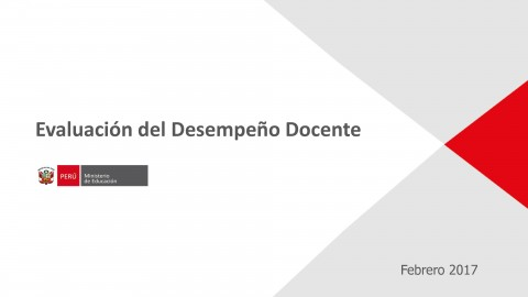 Exposición sobre evaluación de desempeño por Giuliana Espinoza