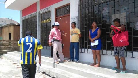 DRE Piura coordina para rehabilitar locales escolares afectados por inundaciones