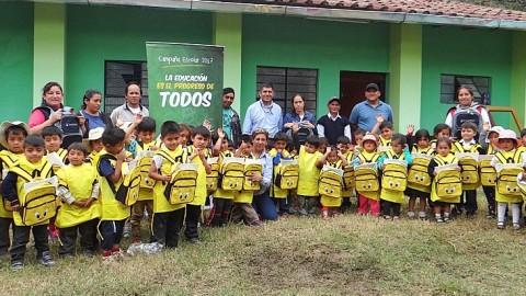 Cajamarca: Trabajan para mejorar la educación en Cajabamba
