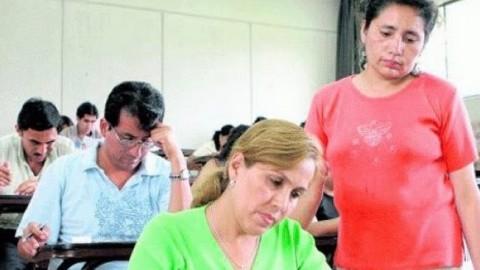 Más de 148 mil docentes darán prueba para acceder a escala magisterial