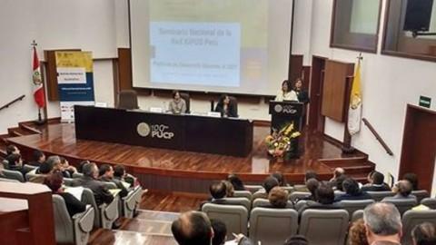 Red Kipus: Sobre primera jornada de seminario sobre políticas de desarrollo docente