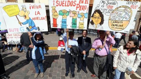 Instalaron mesa de diálogo entre Minedu y maestros de Cusco