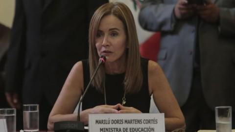"""Marilú Martens: """"No necesitamos políticas clientelistas en educación"""""""