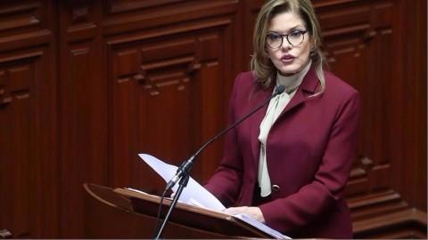 Discurso de primera ministra Araoz ante el Congreso: ¿qué dijo sobre educación?