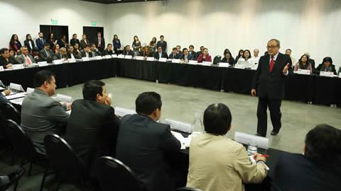Se realizó Directorio de Gerentes y Directores Regionales de Educación