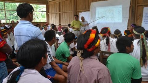 Vigilancia social para la mejora de aprendizajes del pueblo Achuar, un artículo de Gerber Hidalgo