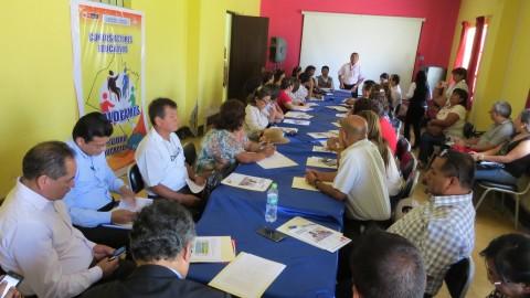 Edugestores reporta: reuniones Minedu en Lambayeque y San Martín