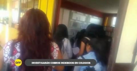 Arequipa: GRE sancionará condicionamiento de matrícula escolar en la región