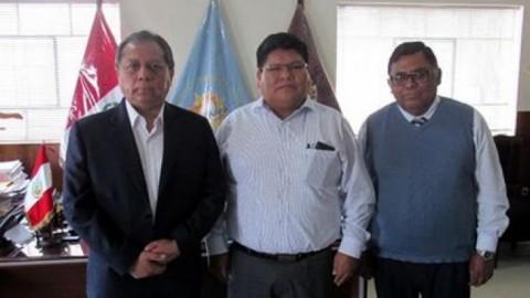 GRE Arequipa y DRE Madre de Dios se reúnen para intercambiar experiencias