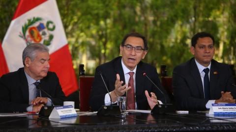 GORE Ejecutivo: Vizcarra dispone que gobiernos regionales prioricen sector educación