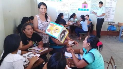 San Martín: Implementan propuesta didáctica Amazonía Lee
