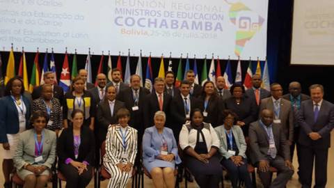 Daniel Alfaro se reunió en Cochabamba con ministros de Educación