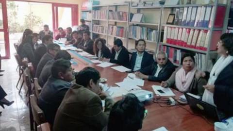 Candidatos firmaron acuerdo de gobernabilidad en Ayacucho