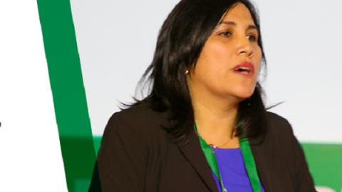 Flor Pablo en CADE educación 2018: ¿Qué modelo de gestión necesitamos para las escuelas?