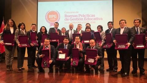 DRE Apurímac destaca premios a dos de sus UGEL: Grau y Cotabambas