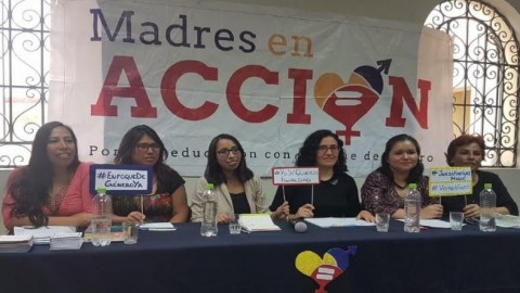 """Madres en Acción: """"Enfoque de género permite igualdad entre hombres y mujeres"""""""