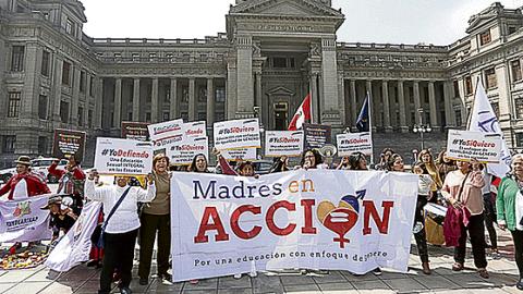 CNE, Minedu y colectivos critican proyecto que busca eliminar igualdad de género