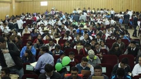 Cajamarca: Más de 600 estudiantes innovadores se reunieron en primer congreso