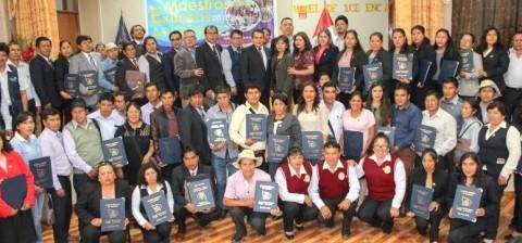 Apurímac: Docentes fueron reconocidos por la DRE