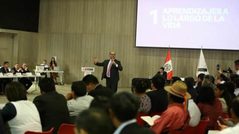 Gobierno y regiones suscriben Pacto Bicentenario por la Educación