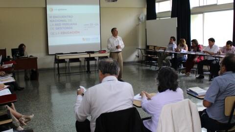 III Encuentro Nacional de Edugestores: avances y desafíos