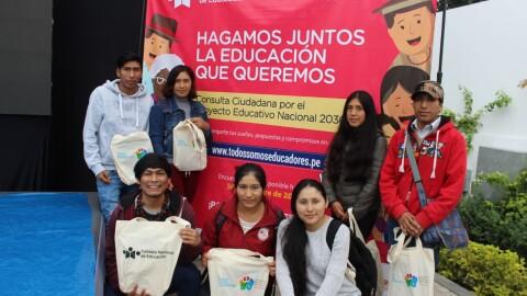 Consulta Ciudadana por el PEN al 2036: «Todos Somos Educadores» está en marcha