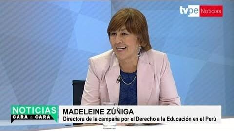 """Madeleine Zúñiga: """"Machismo nos lleva al atraso"""""""